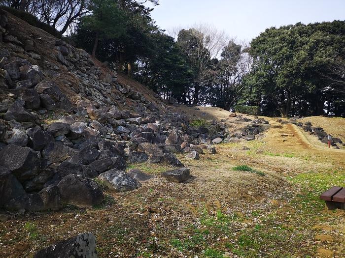 本城曲輪の石垣