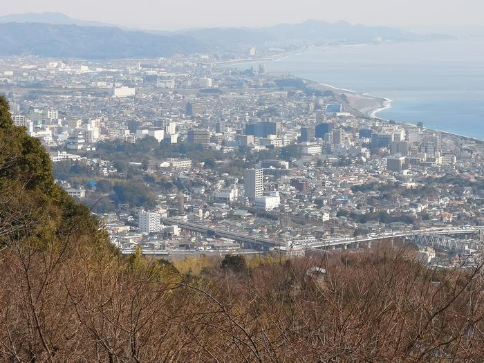 物見台からの景色(ズーム)