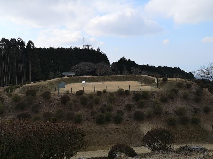 西ノ丸から見た西櫓