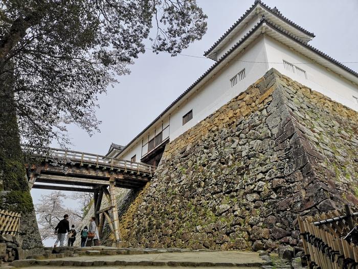 天秤櫓と廊下橋(その1)