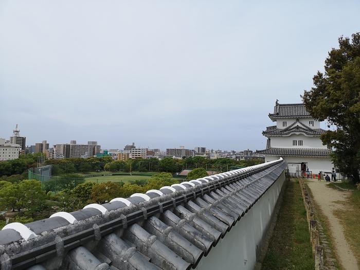 坤櫓と土塀
