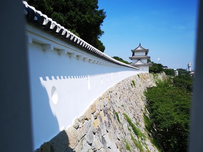 坤櫓から見た巽櫓