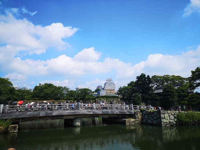 桜門橋越しの天守