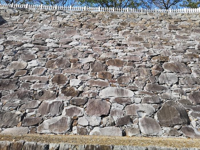 天守曲輪の石垣(2)