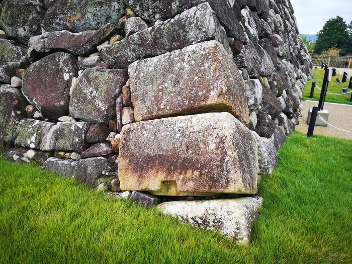 羅城門の礎石