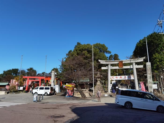 針綱神社と三光稲荷神社