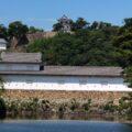 彦根城 直線の大手山道に注目